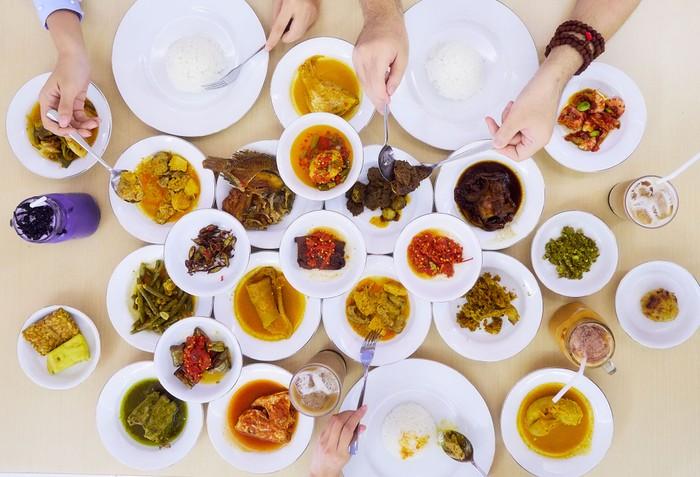Ilustrasi Nasi Padang