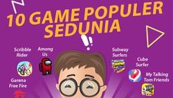 10 Game Terpopuler Sedunia, Sudah Punya Belum?