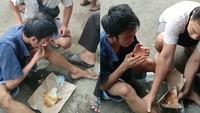 Ketahuan Curi Burung, Pria Ini Malah Dikasih Makan Nasi Bungkus