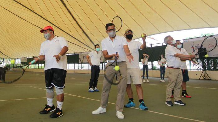 BTN Tennis Mini Tournament 2020 digelar dalam rangka mempererat silaturahmi dan kerjasama antara Bank BTN dengan para nasabah institusi pendidikan.