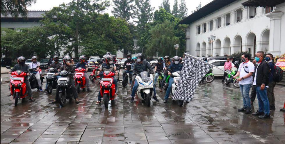 Motor listrik mulai diuji di Bandung