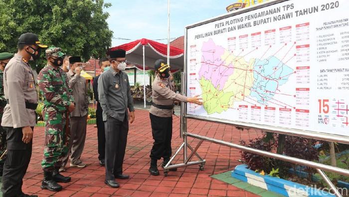 Polres Ngawi Kerahkan 800 Personel Untuk Pengamanan
