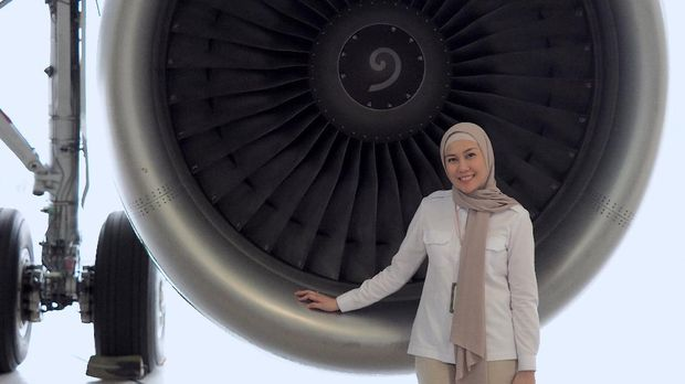 Vice President Marketing & Distribution Channel PT Citilink Indonesia Amalia Yaksa Parijata.