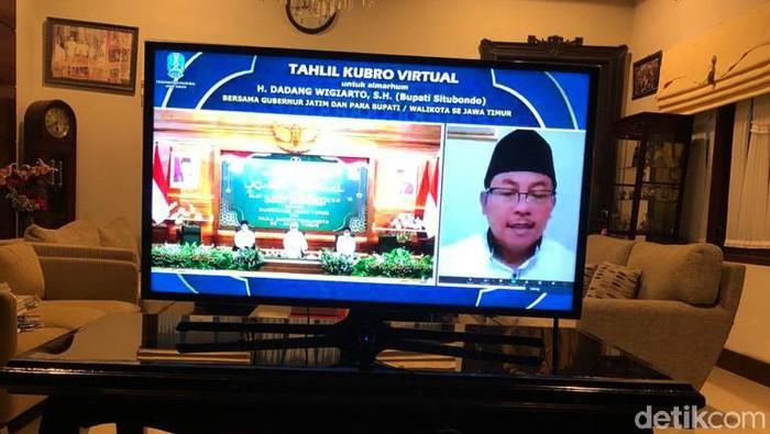 Wali Kota Malang Sutiaji ikut tahlil virtual bupati situbondo