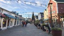Pusat Belanja di Belanda yang Sangat Sepi Saat Ini