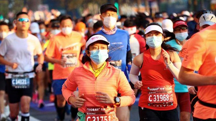Lari maraton di Shanghai