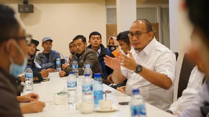Andre Rosiade di Rapat Gerindra Bukittinggi/Dok Gerindra Sumbar