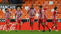 Tumbangkan Valencia 1-0, Atletico Madrid Belum Terkalahkan di LaLiga