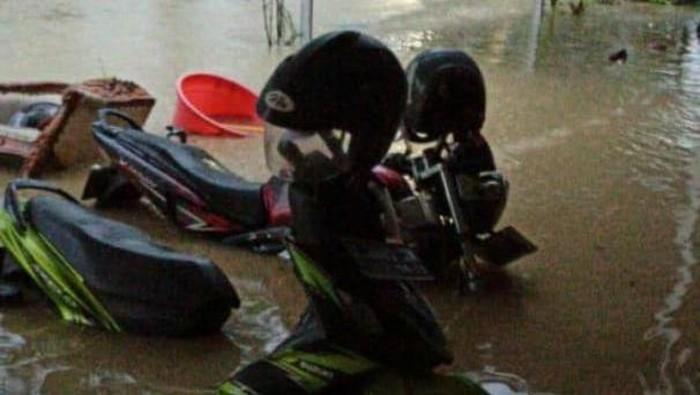 Banjir di Rembang, Minggu (29/11/2020).