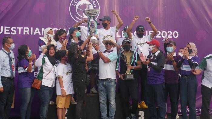 Equestrian Champions League 2020 sudah selesai, Sabtu (28/11/2020)