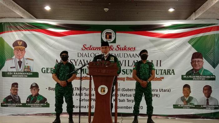 Gubsu Edy Rahmayadi di Acara Musywil GPK