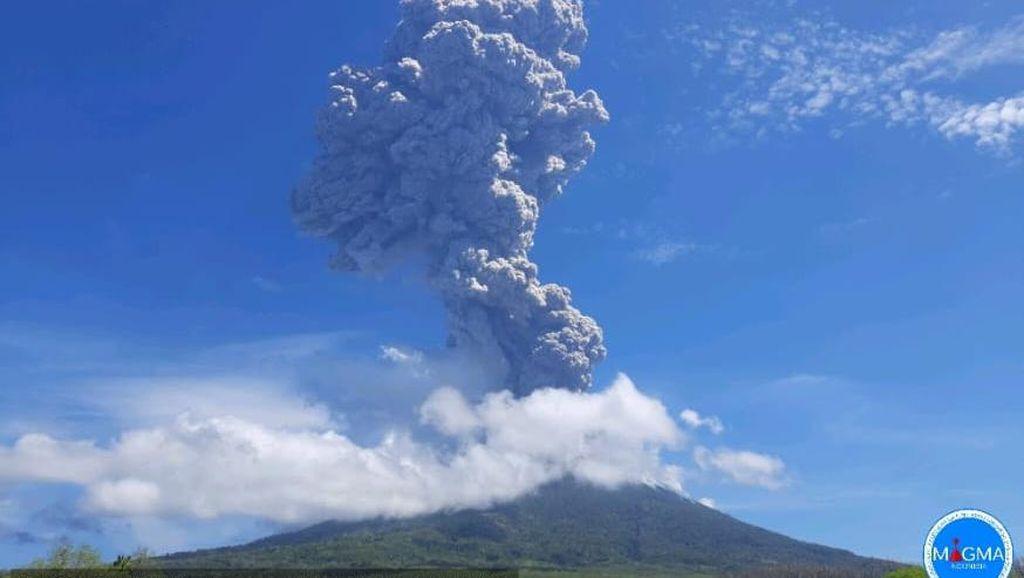 Status Gunung Lewotolo di NTT Naik Jadi Siaga, BPBD Evakuasi 2.782 Orang