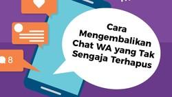 Mengembalikan Chat WhatsApp yang Terhapus