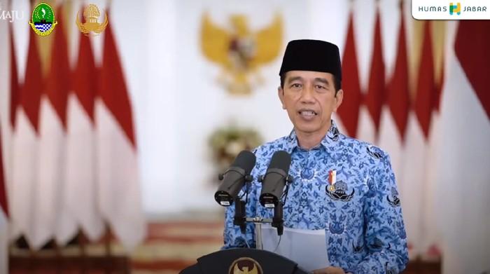 Jokowi di HUT ke-49 Korpri