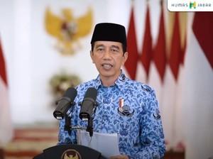 Pesan Jokowi di HUT ke-49 Korpri: Berikan Layanan Terbaik ke Masyarakat