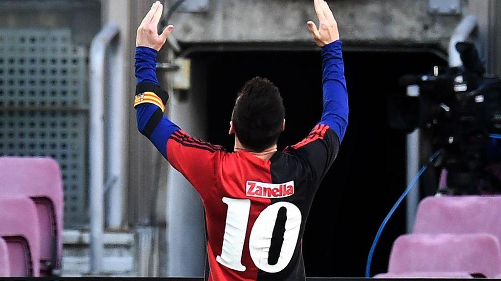 Penghormatan Messi untuk Maradona Bikin Barcelona Terancam Sanksi