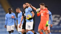 Manchester City Vs Burnley: Mahrez Hat-trick, City Pesta 5-0