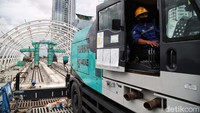Begini Progres Pembangunan LRT Jabodebek