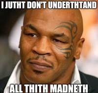 Meme Mike Tyson