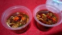 Unik! Mie Ayam Rp 2.000-an Ini Disajikan dalam Cup Mini