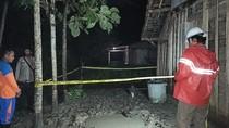 Warga Blora Temukan Semburan Diduga Gas, Lokasi Digaris Polisi