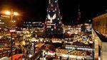 Potret Pasar Natal Sebelum dan Saat Pandemi di Eropa