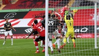 Babak I Southampton Vs MU: Setan Merah Tertinggal 0-2