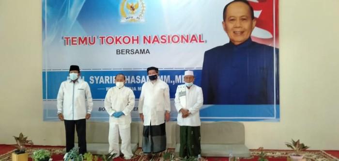 Temu Tokoh Nasional di Pondok Pesntren Al Falak, Loji Bogor Barat