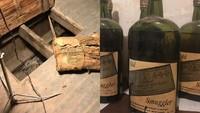 Pasangan Ini Temukan 66 Botol Whisky Kuno di Dinding dan Lantai Rumah