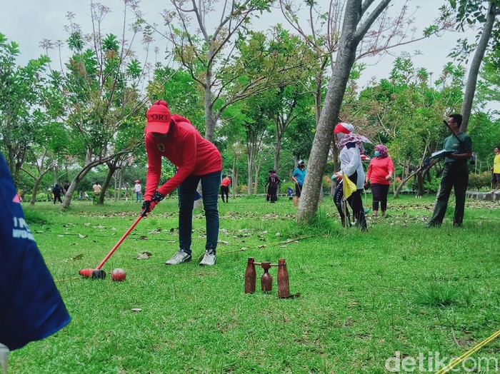 Woodball di kabupaten Klaten terdampak pandemi COVID-19.