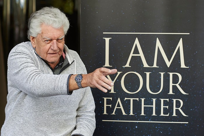 MADRID, SPAIN - NOVEMBER 18:  Actor David Prowse attends the I Am Your Father photocall at the Verdi cinema on November 18, 2015 in Madrid, Spain.  (Photo by Carlos Alvarez/Getty Images)