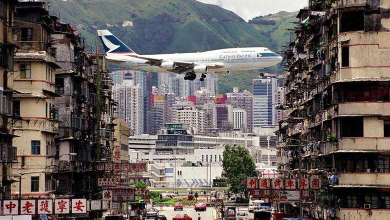Airside di eks Bandara Kai Tak Hong Kong