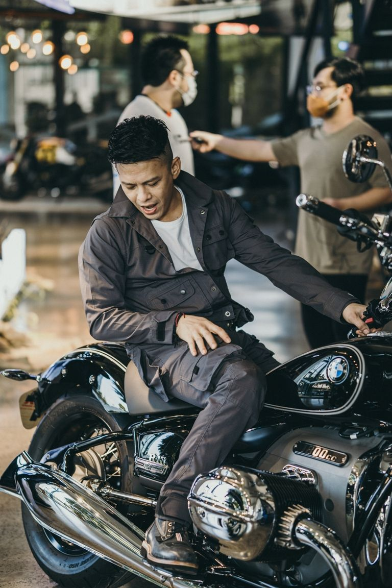 Ariel Noah dan BMW R 18 First Edition