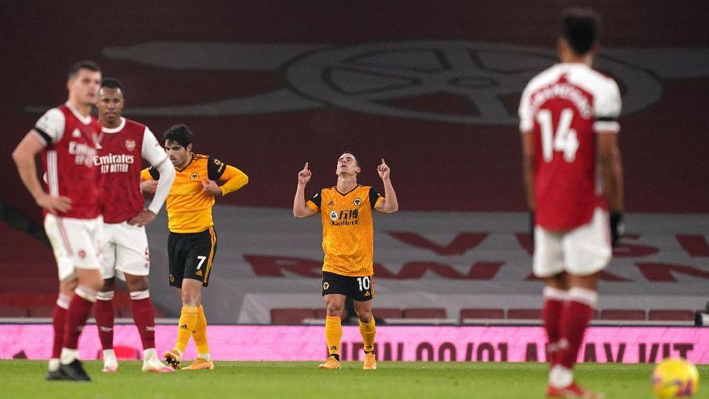 Wolverhampton Beri Arsenal Pil Pahit di Emirates Stadium