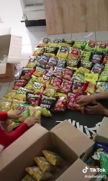 Buket Snack Jumbo Setinggi 2 Meter