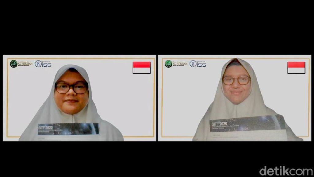 Dua Pelajar Surabaya Temukan Teh Herbal yang Hambat Sel Kanker Payudara