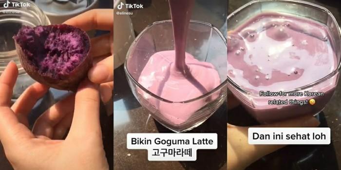 Resep Goguma Latte yang Viral di Korea