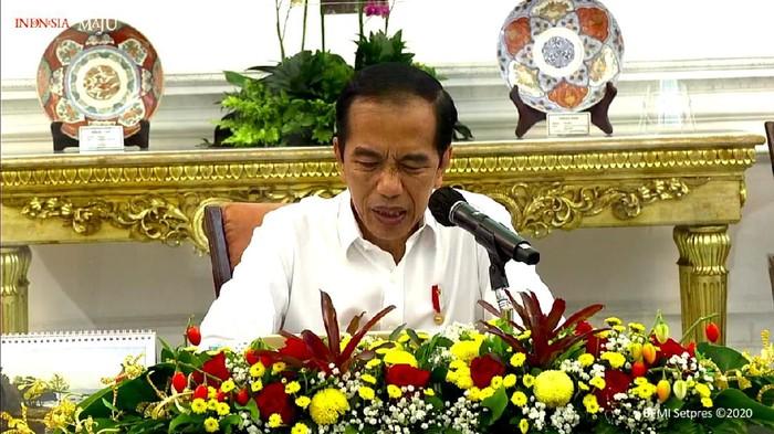 Jokowi dinilai kesal dengan data Corona yang memburuk (Dok. Setpres RI)