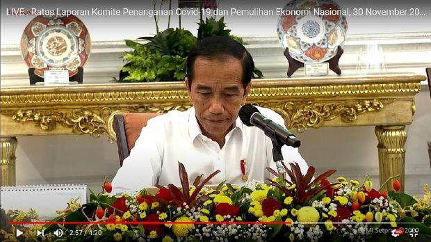 Jokowi saat menyebut kondisi Corona yang memburuk semua (Dok. Setpres)