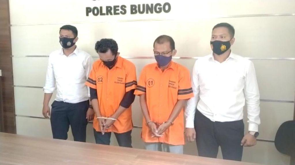 Korupsi Dana Desa Rp 644 Juta, Bendahara-Kades di Jambi Ditangkap