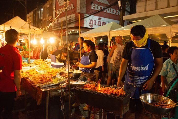 Bisa Jajan Bubur, Sate hingga Makanan Jepang hingga Dini Hari