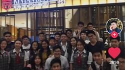 Makan di Resto AYCE, Anak-anak Sekolah Ini Habiskan 200 Piring Daging