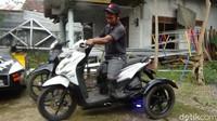Kisah Inspiratif Kang Jimin, Pembuat Motor Roda 3 untuk Difabel Tak Pasang Tarif