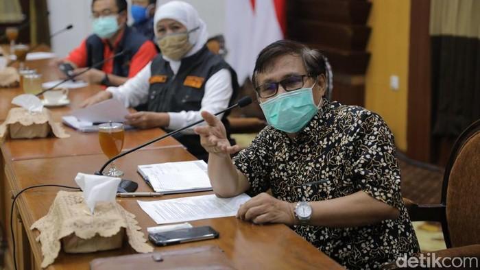 Pakar epidemiologi asal Universitas Airlangga (Unair) Surabaya, dr Windhu Purnomo