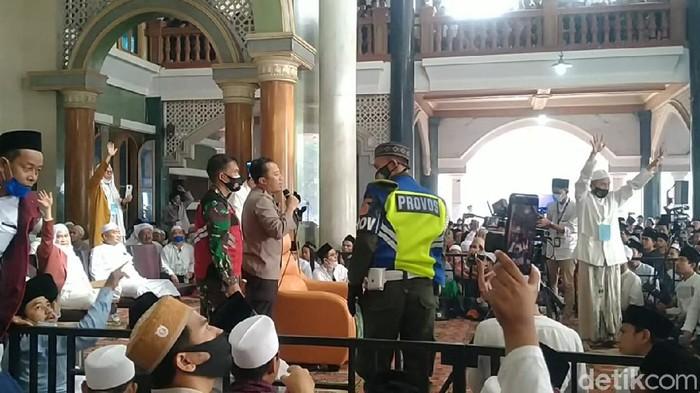 Pemkab Tangerang akan jelaskan pembubaran kerumunan haul Syekh Syekh Abdul Qodir Jailani