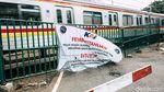 Perlintasan Sebidang Stasiun Palmerah Ditutup Permanen