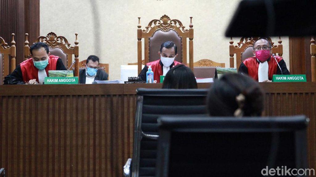 Hakim Cecar Teman Pinangki Singgung Hukuman Jika Beri Kesaksian Palsu