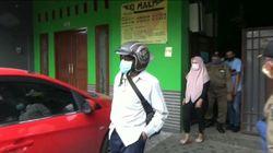 PNS dan Bu Dosen yang Terjaring Razia di Kota Mojokerto Dibina Satpol PP