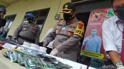 Polisi Tangkap Penjual Obat-obatan Terlarang ke Remaja-Pelajar Cianjur
