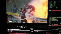 Kecelakaan Ekstrem, Kok Mobil Formula 1 Bisa Terbakar Hebat?
